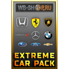 Купить машины CSR Racing 2 Extreme Car Pack